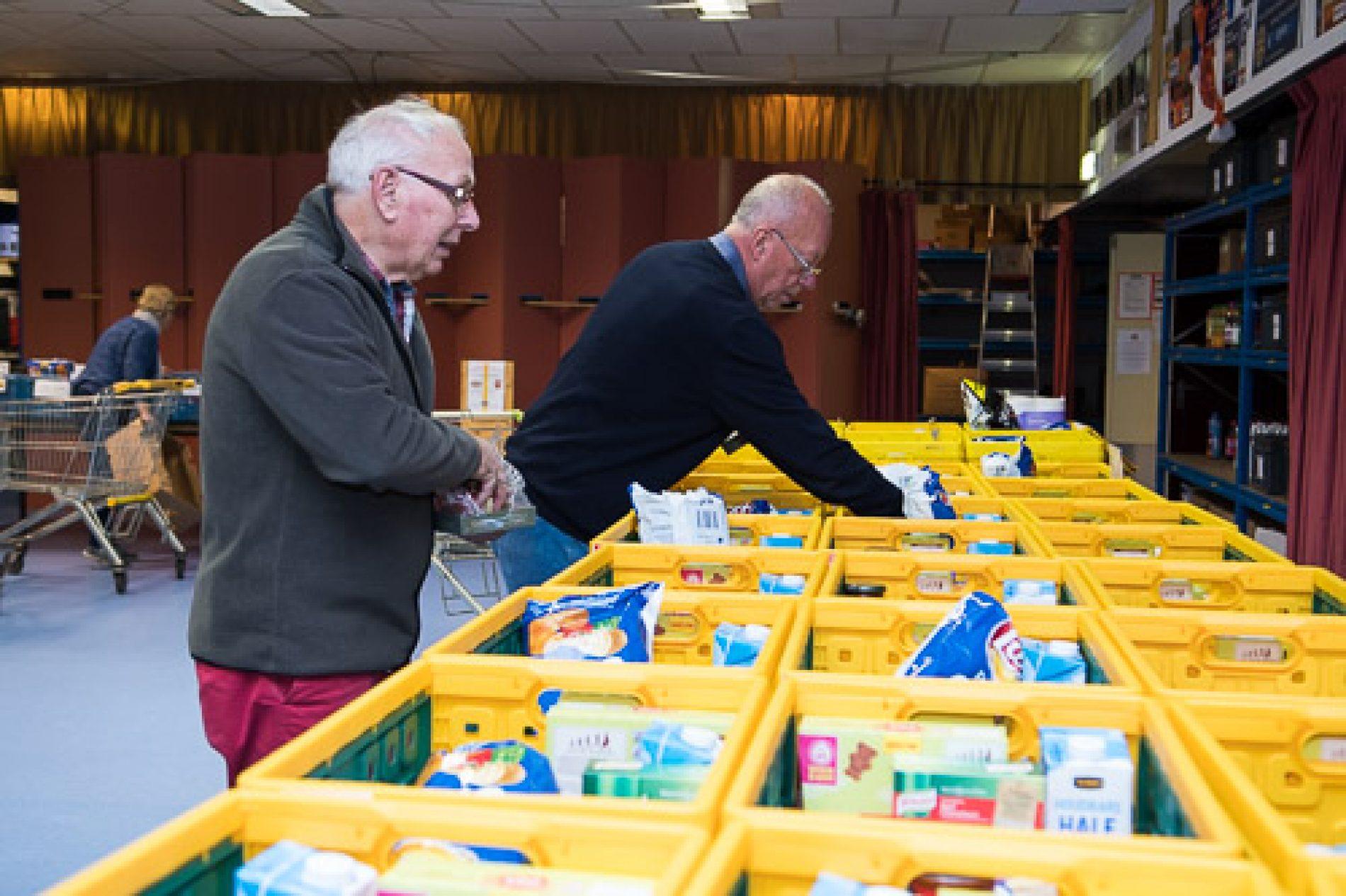Vrijwilligers in actie
