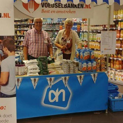 Winkelactie bij Albert Heijn in de Boterhoek te Best