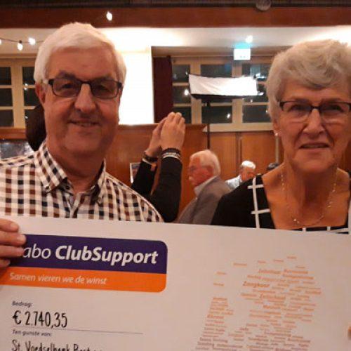 Hoge score bij Rabo Club Support 2019
