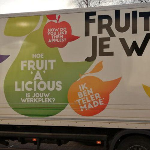 'Fruit op je werk' schenkt kistjes heerlijk fruit aan cliënten voedselbank